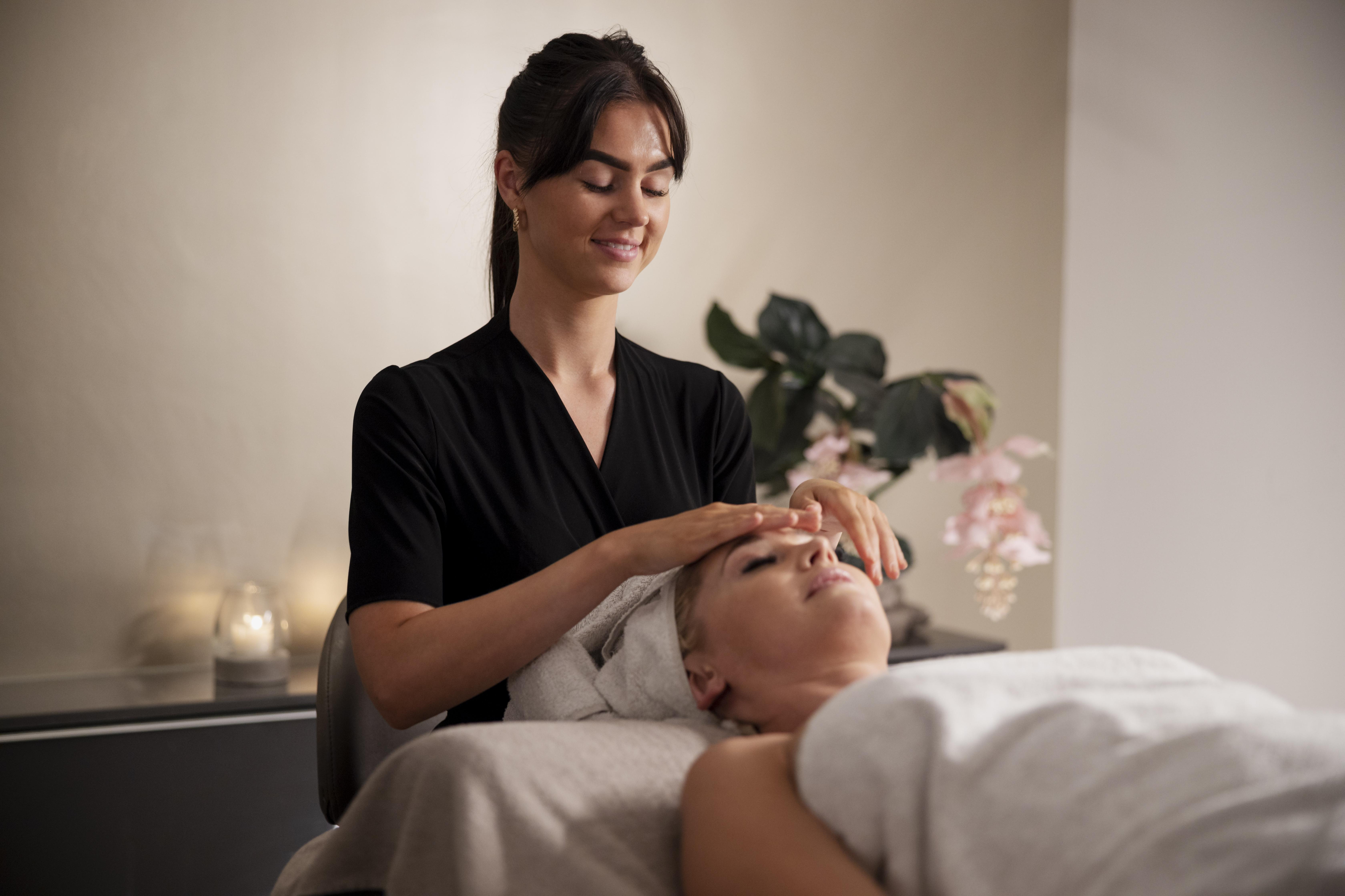 Relax and unwind as we apply spa and beauty therapy history!