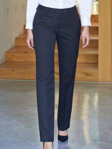 Woman wearing work trousers