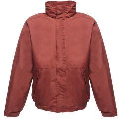 Burgundy Fleece Lined Waterproof Jacket