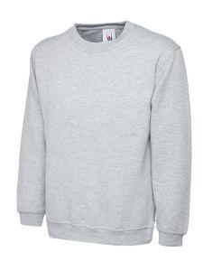 Grey unisex jumper