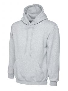 Premium Weight Pullover Hooded Sweatshirt With Front Pouch Pocket