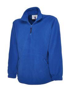 Premium Weight Quarter Zip Micro Fleece Jacket