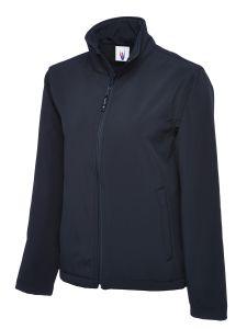 Unisex Zip Front Soft Shell Jacket