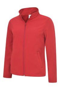 Ladies Zip Fasten Soft Shell Jacket