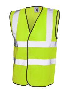 Sleeveless High Visibility Waist Coat