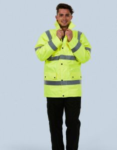 High Visibility Road Safety Jacket