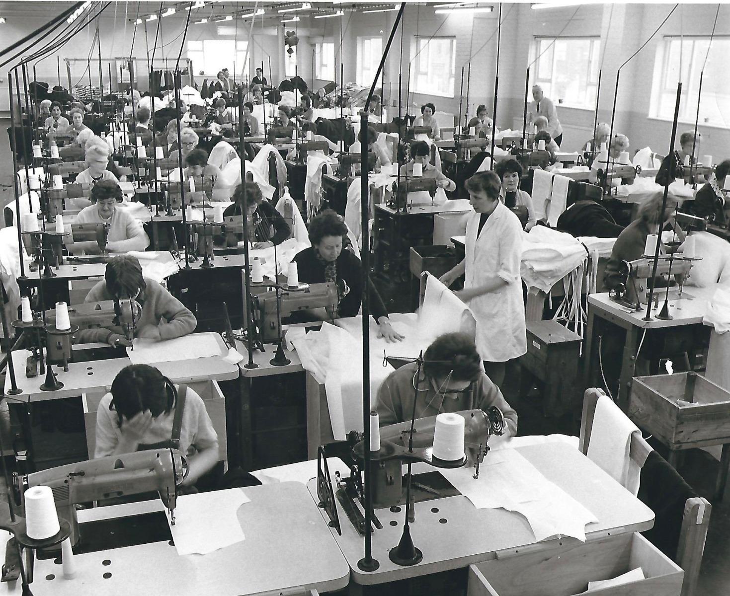 Harveys Factory in the 1950s